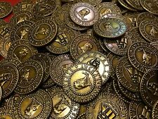 Pirate Treasure Coins - LOT OF 50 - Great for Kids / Party / Doubloons