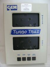 Gem Turbo Trax Audio Cassette Tape Mono Copier Duplicator