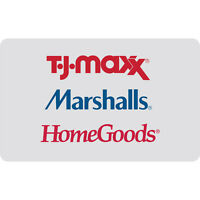 $25 / $50 / $100 T.J.Maxx Gift Card - Mail Delivery
