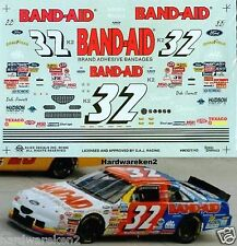 NASCAR DECAL #32 BAND-AID 1996 BGN FORD THUNDERBIRD DALE JARRETT SLIXX