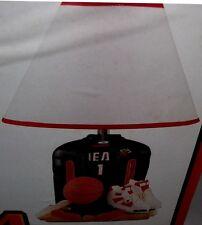 Miami Heat Player Uniform Lamp Sports Bedroom Lamp NBA