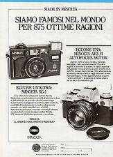 GENTEMOTORI983-PUBBLICITA'/ADVERTISING-1983- MINOLTA AF2-M + MINOLTA XG-1