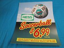 Hess Soccer Ball Pump sign