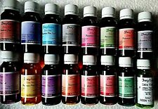 15 assorted color  extra fine Fountain Pen Ink 60 ml each DHL EXPRESS SHIPPING
