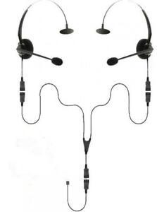 USB Splitter Training Headset Bundle | 2 Users