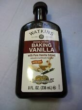 Watkins 8 oz dark vanilla
