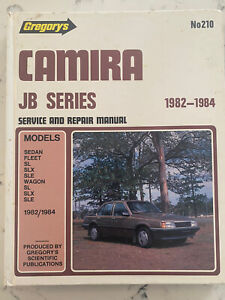 Camira JB Series 1982 - 1984 by Gregory's Service and Repair Manual No:210