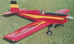 Giant Scale Cadsport Aerobatic Sport Plane Plans, Templates & Instructions 89ws