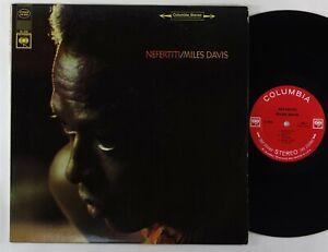 "Miles Davis ""Nefertiti"" Jazz LP Columbia 9594"