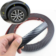"196"" Car Wheel Fender Moulding Cover Strip Scratch Resistant Carbon Fiber Style"