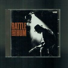 U2 RATTLE AND HUM CD ALBUM 1988