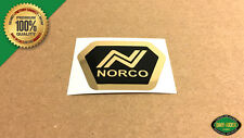 NORCO BMX Head Tube Badge Replacement Decal Sticker Gold - Starfire, Spitfire