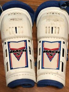 Vintage Thor Mach 5 Motocross Knee Guards - Made In Italy
