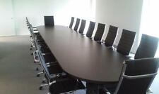 6'-20' Conference table available in 5 Finishes, Very Nice Perfect Condition NEW