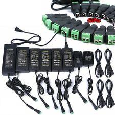 AC DC Power Supply Adapter Transformer 12V 5A 6A 8A 10A For LED Strip Light