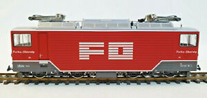 "BEMO 1260/2 FO (Furka Oberalp Bahn) Ge 4/4 82 ""Uri""   Neu, H0m, OVP"