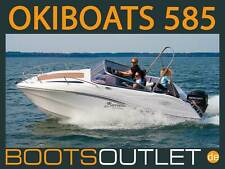 Motorboot Angelboot Boot Trailer Okiboats 585 Barracuda Sportboot Mercury