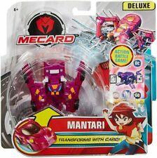 Mattel Mecard MANTARI Deluxe Action Battle Figure Transfomer with Card Game NIP