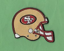 "New San Francisco 49ers' Helmet' 2 1/2 X 3 ""Inch Iron on Patch Free Shipping"