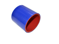 """Silicone coupler Straight Blue 3.5""""ID Turbo Intake 5PLY"""
