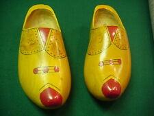 Vintage wooden Shoes Collectable Nice Size 10 Decrative