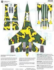 Aztec Decals 1/48 SUKHOI Su-27 Angola Splinter Camouflage Paint Mask Set
