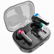 Bluetooth 5.0 Earbuds for iphone Samsung Android Wireless Headphones Waterproof