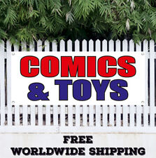 Banner Vinyl Comics & Toys Advertising Sign Flag Children Shop Toy Store Opening