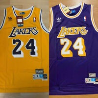 Men's/Youth Kobe Bryant #24 Los Angeles Lakers Stitched Purple/Yellow Jersey