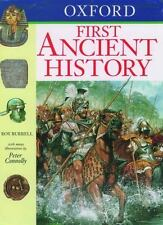 Oxford First Ancient History (Oxford First Books) by Roy Burrell
