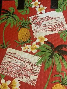13X12X10  Large Insulated Bag For ,Gifts Grocery, Travel.  Postcard, Plumeria.