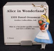 Grolier Disney Alice in Wonderland 1999 Christmas Ornament Dinah Cat 35500986