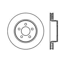 Centric Parts 120.63071 Front Premium Brake Rotor