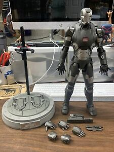 Hot Toys 1/6 Iron Man 3 Diecast Series WAR MACHINE Mark II MMS198 D03 *USED*