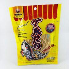 Taro fish snack low fat diet protien delicious thai food party spicy flavoured