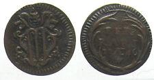 *TRIU* FERRARA Benedetto XIV 1740-58 QUATTRINO 1746 in rame