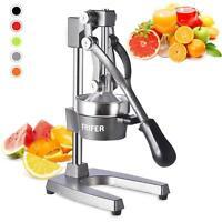 Hand Press Manual Fruit Juicer Juice Squeezer Citrus Orange Lemon Tool Home Gray