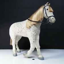 American Girl Doll SAIGE'S HORSE PICASSO Appaloosa Spotted & Bridle Halter Reins