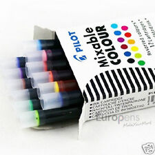 Pluma estilográfica caligrafía paralelo piloto-Cartuchos De Tinta - (IC-P3) Colores Mezclados