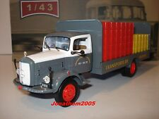 Ixo altaya Trucks from the Past Mercedes Benz L312 Plateau Brewer 1956 Au 1/43