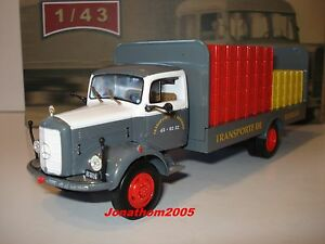 Ixo altaya Trucks from the Past Mercedes Benz L312 Plateau Brewer 1956 Au 1/43