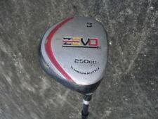 VTG ZEVO Golf Club Driver #3 Titanium Matrix Right Handed RH Graphite Shaft