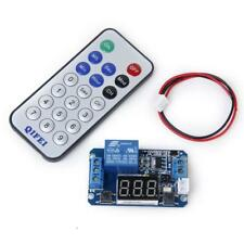 12V LED Display Digital Programmable Timer Relay Module + IR Remote Controller