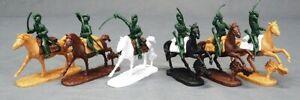 LOD Enterprises Plastic Figure Sets LOD037 American Revolution Cavalry Green