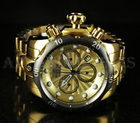 Invicta 52mm Venom Swiss Chronograph 18K Gold Plated Stainless Steel 1000m Watch