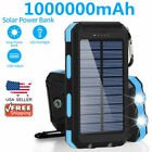 2021 Super 1000000mAh USB Portable Charger Solar Power Bank for Cell Phone
