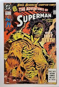 Adventures of Superman #470 (Sep 1990, DC) VF
