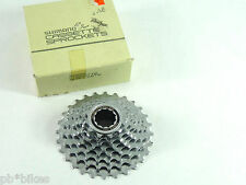 Shimano HG70 8 Speed 11-28 Cassette  W Lockring Vintage Road Racing bicycle NOS