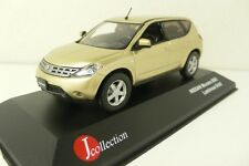 NISSAN MURANO 2005 LIMOUSINE GOLD J-COLLECTION JC105 1:43