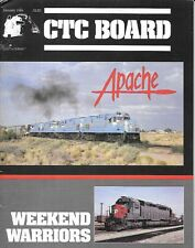 CTC Board #127 Jan.1986 Apache Railway Holebrook Arizona Snowflake Paper Mill